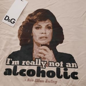 Dolce & Gabbana Dallas Sue Ellen Ewing shirt